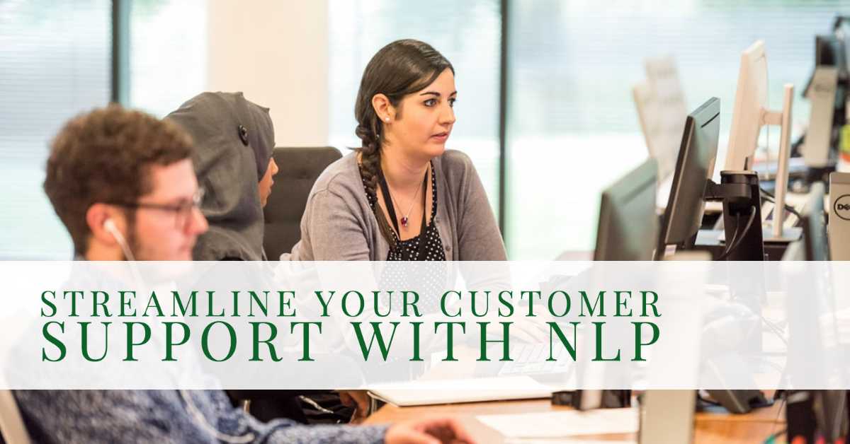 nlp in customer service