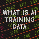 what is ai training data