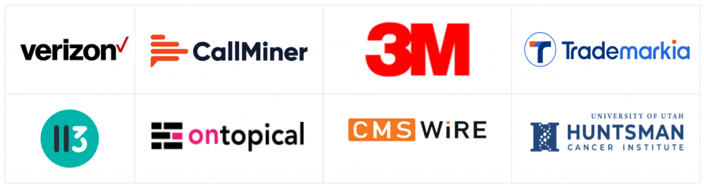 ai consulting clients and partners and media